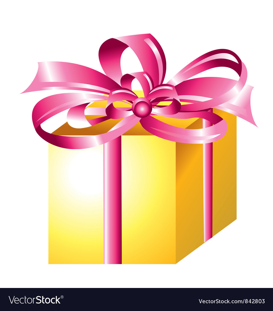 Wrapped gift vector | Price: 1 Credit (USD $1)