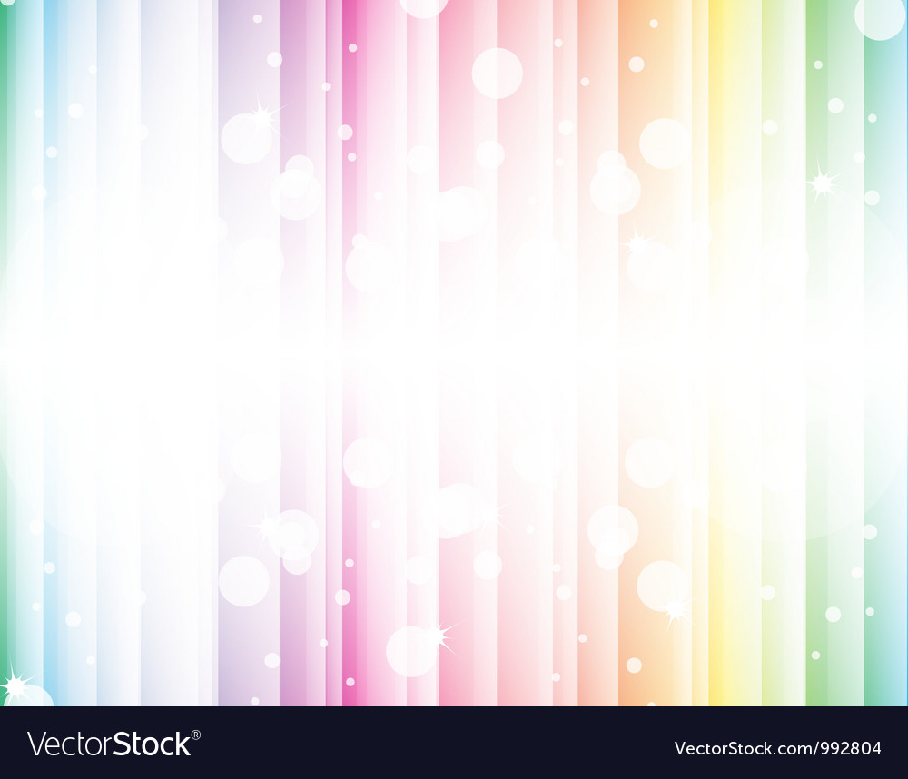 Abstract background of the rainbow vector | Price: 1 Credit (USD $1)