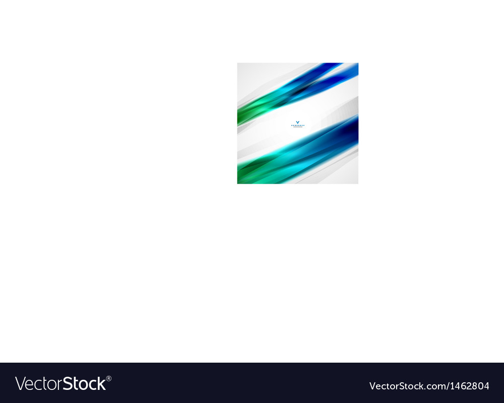 Colorful moving abstract lines modern template vector | Price: 1 Credit (USD $1)