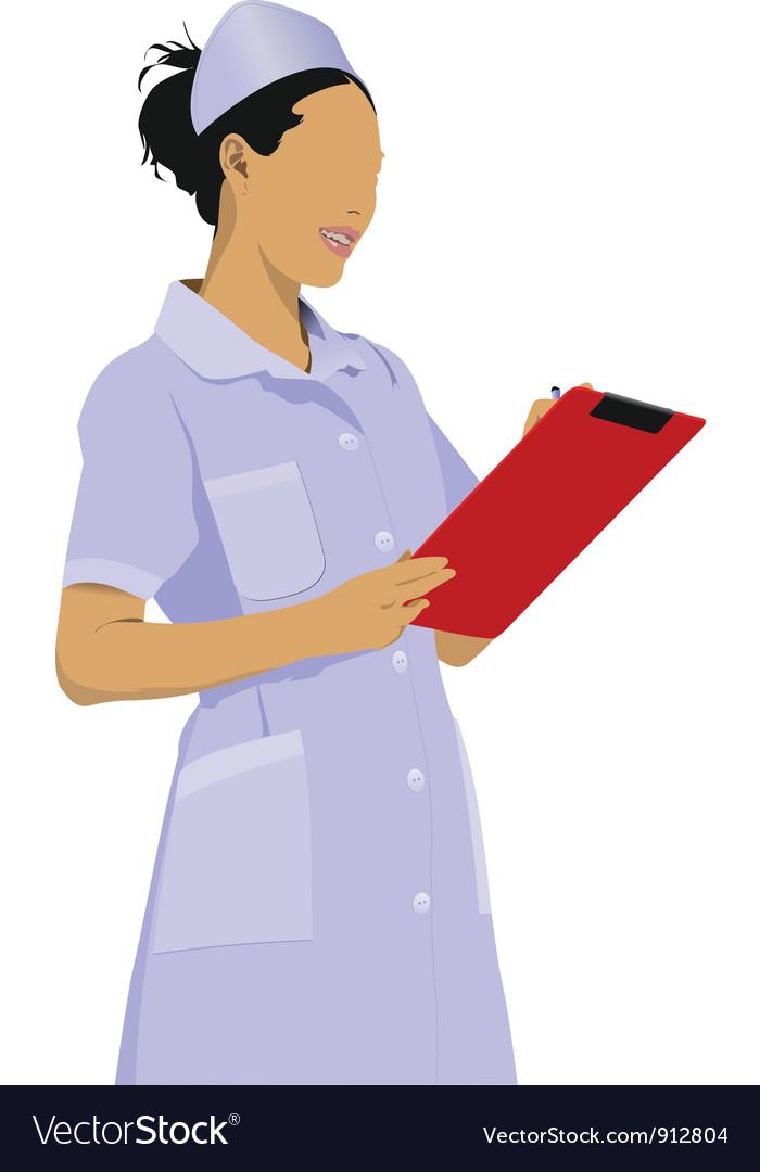 Nurse vector   Price: 1 Credit (USD $1)