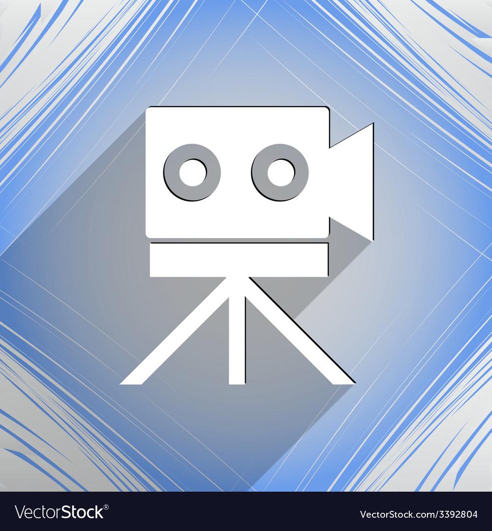 Video camera icon symbol flat modern web design vector   Price: 1 Credit (USD $1)