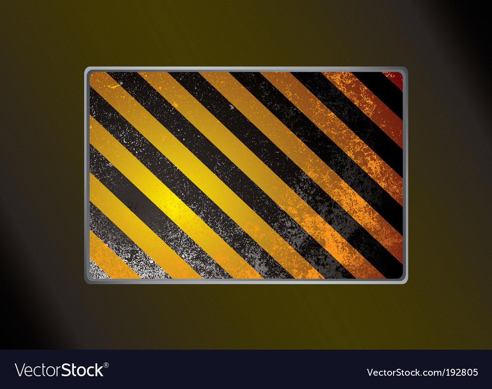 Grunge warning background vector | Price: 1 Credit (USD $1)