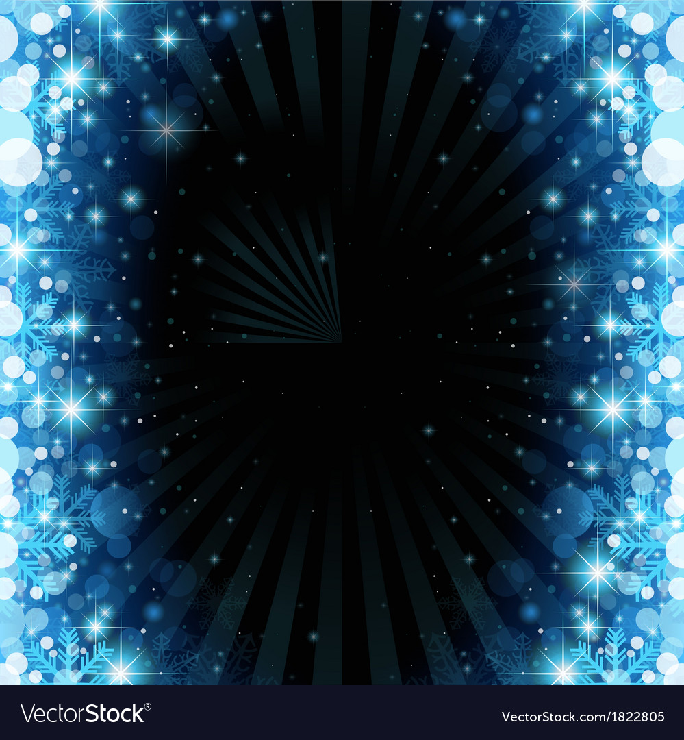 Magic christmas background vector | Price: 1 Credit (USD $1)