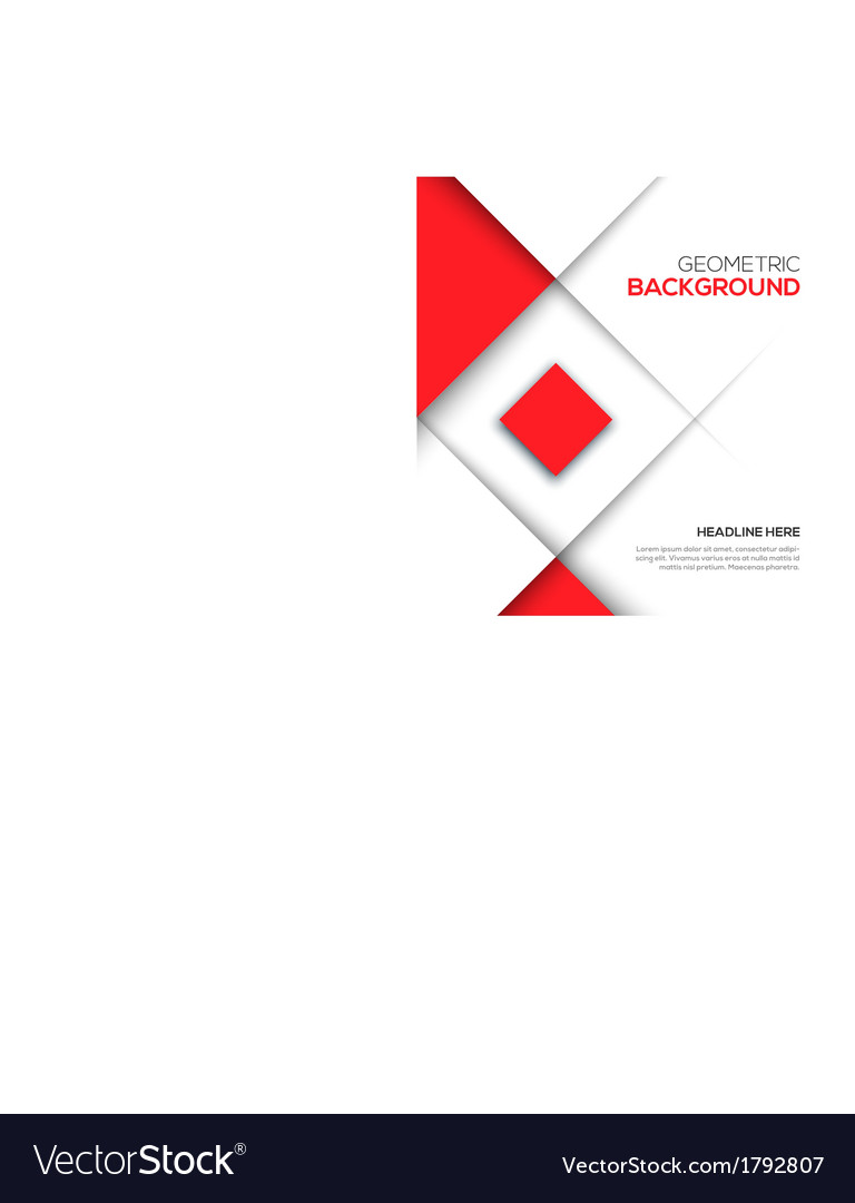 Geometric red 3d background vector   Price: 1 Credit (USD $1)