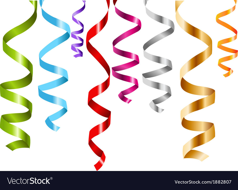 Multicolor curling stream vector | Price: 1 Credit (USD $1)