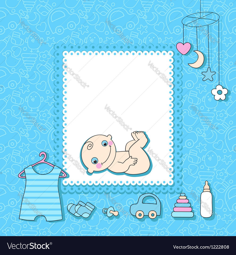 Baby boy vector | Price: 1 Credit (USD $1)
