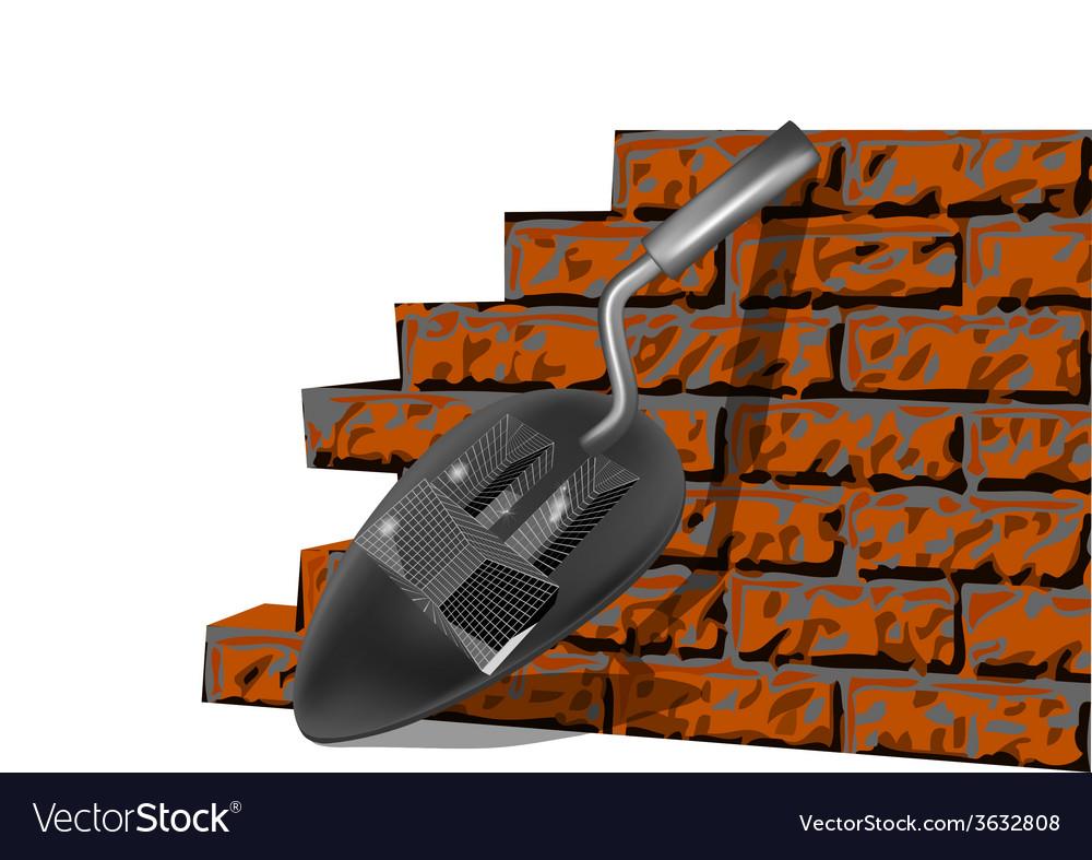 Building brick wall vector   Price: 1 Credit (USD $1)