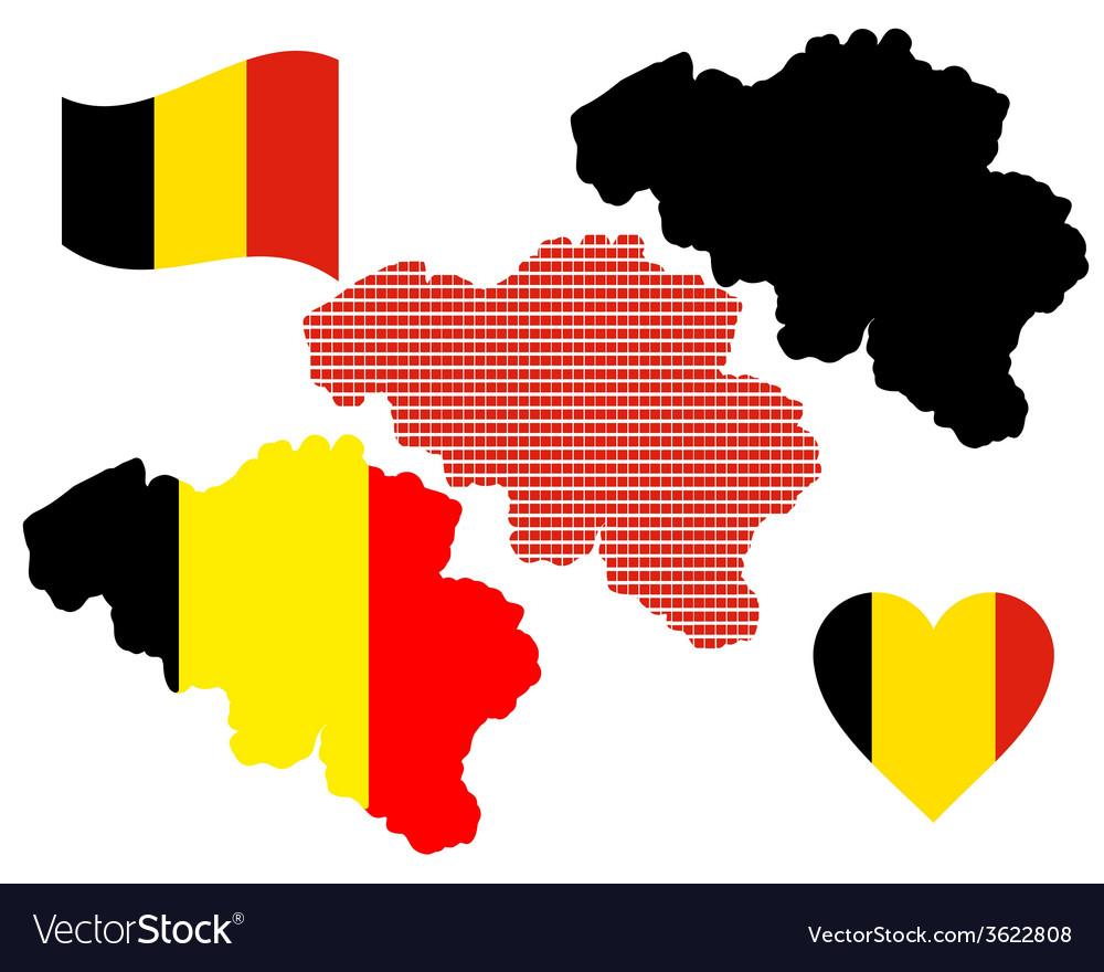 Map of belgium vector   Price: 1 Credit (USD $1)