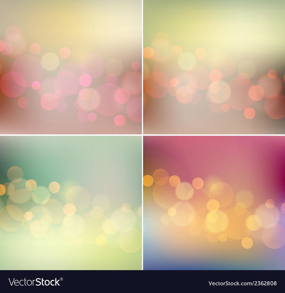 Soft light blurred background retro color vector | Price: 1 Credit (USD $1)