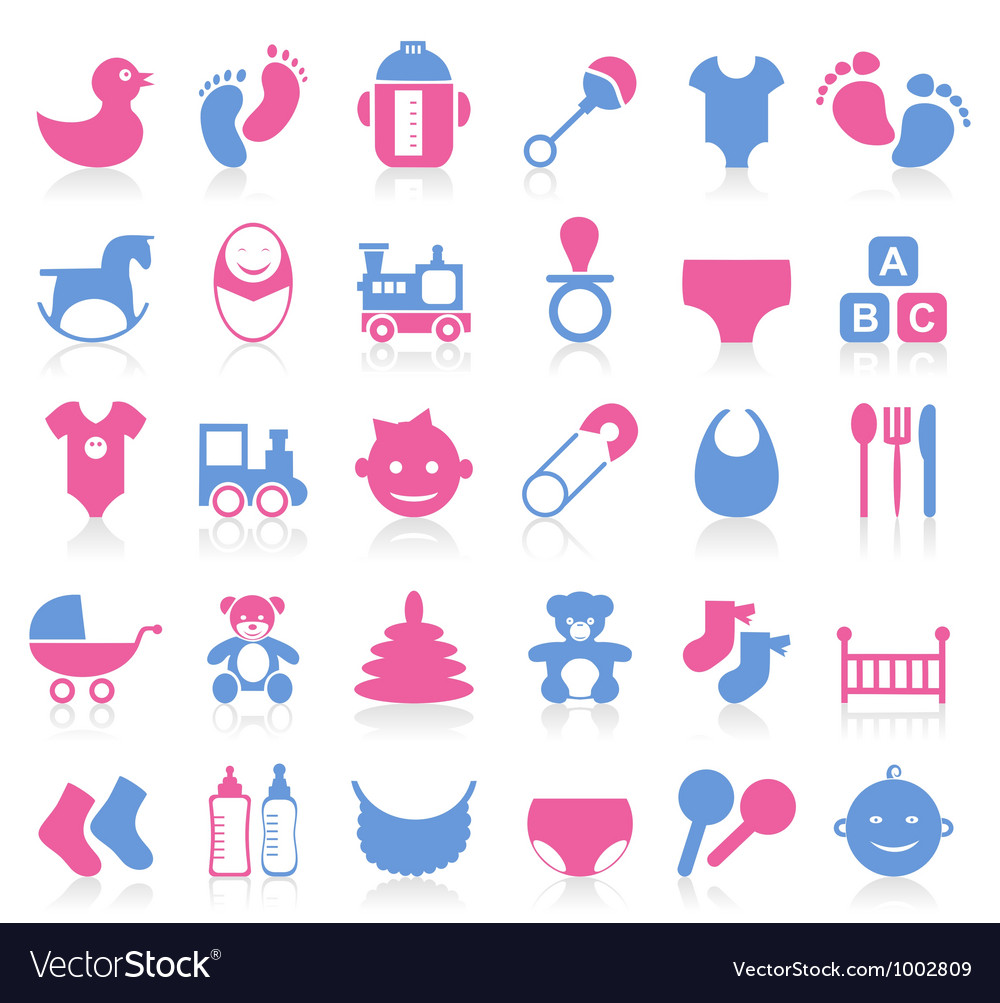 Family baby icon vector | Price: 1 Credit (USD $1)