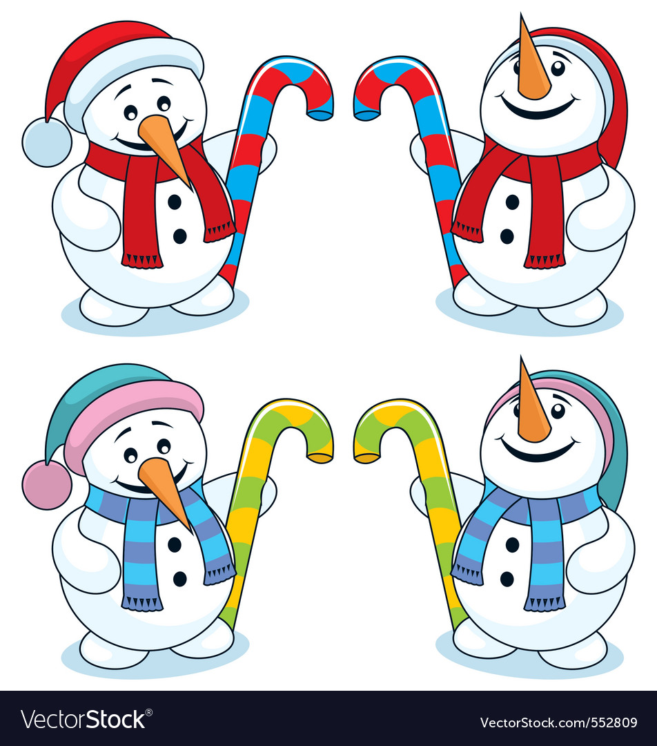 Little snowman vector | Price: 1 Credit (USD $1)