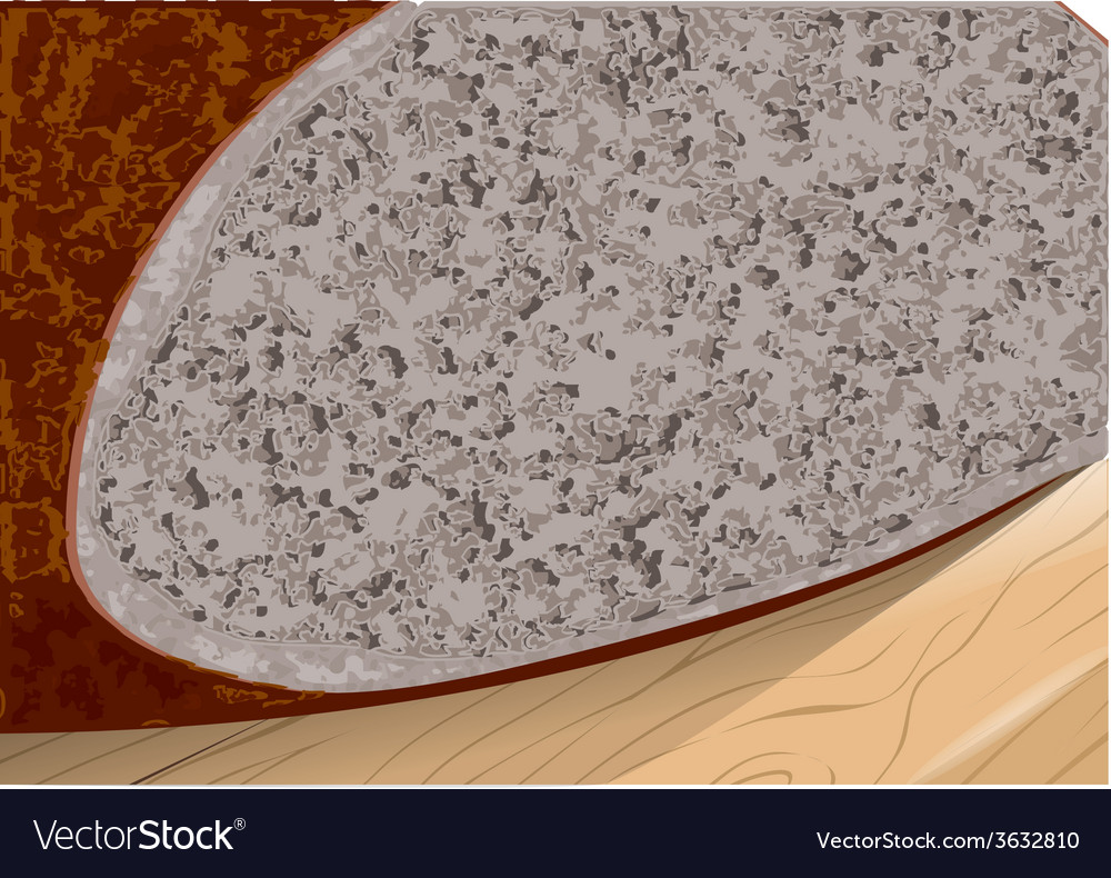 Buckwheat bread vector | Price: 1 Credit (USD $1)