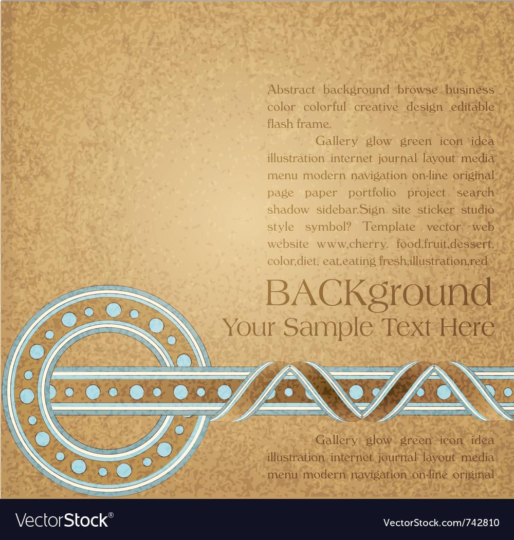 Vintage ornate background vector | Price: 1 Credit (USD $1)