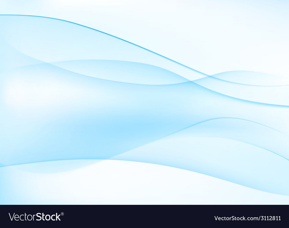 Abstract blue wavy background vector | Price: 1 Credit (USD $1)