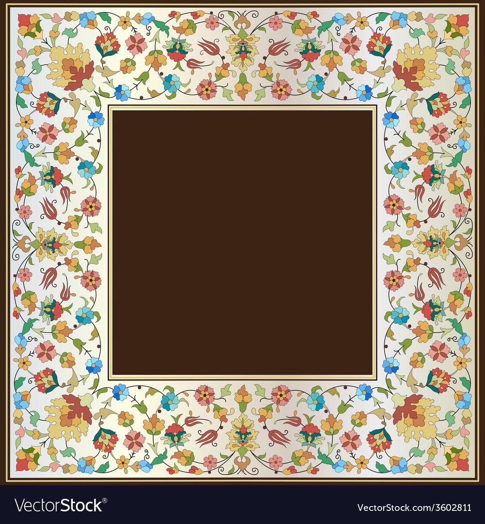 Artistic ottoman pattern series twenty seven vector   Price: 1 Credit (USD $1)