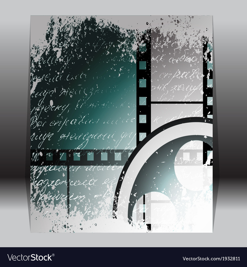 Grunge film for photo or video recording vector | Price: 1 Credit (USD $1)