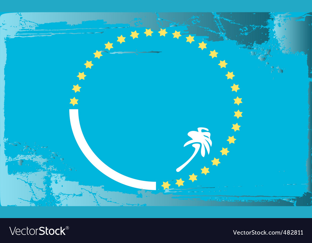 Pacific community flag vector | Price: 1 Credit (USD $1)