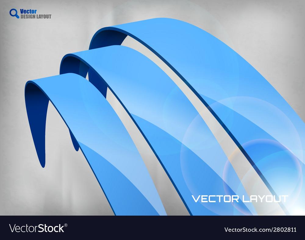 Stripes big blue vector | Price: 1 Credit (USD $1)