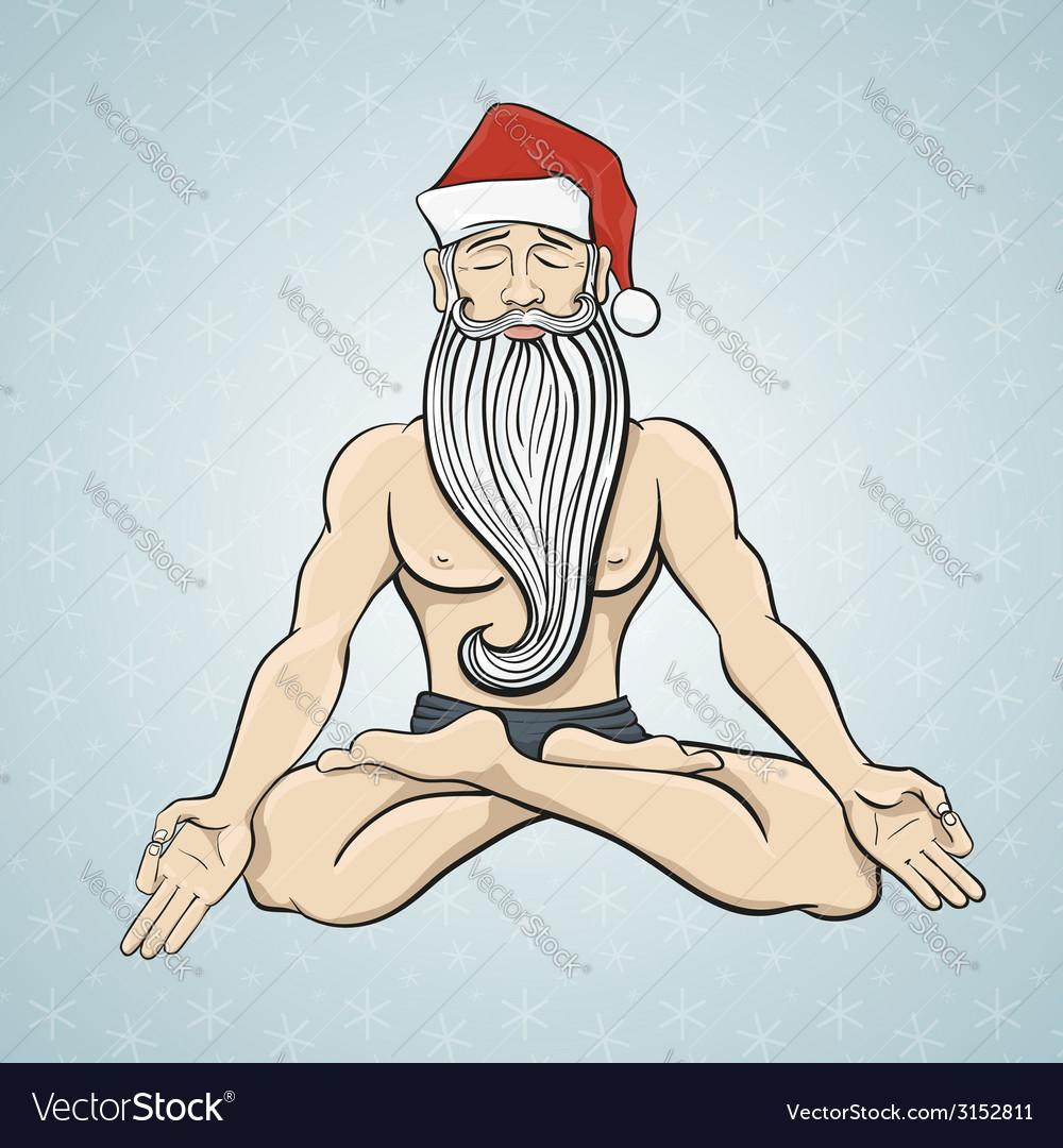 Yogin santa vector | Price: 1 Credit (USD $1)