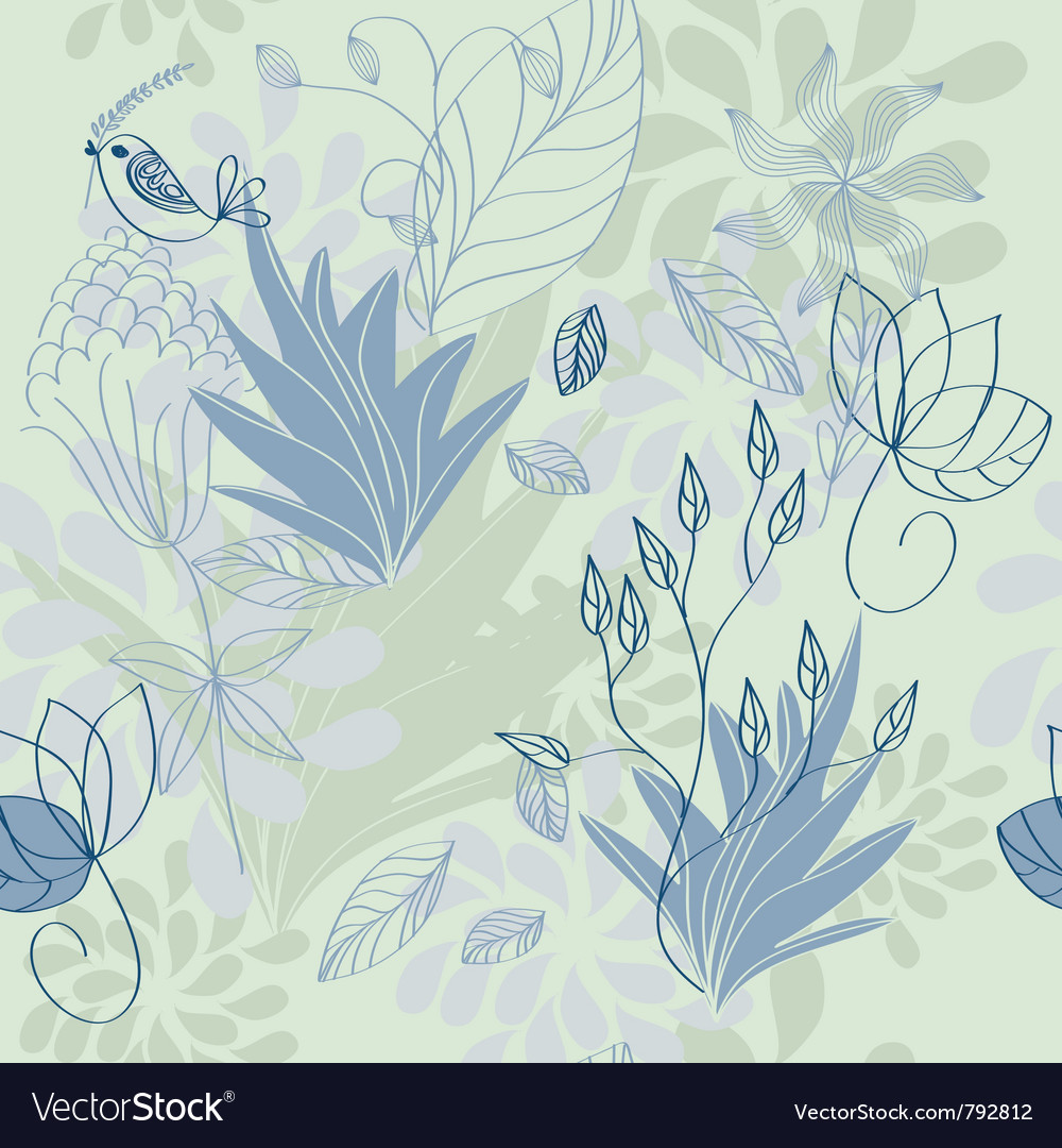 Herbal pattern vector | Price: 1 Credit (USD $1)