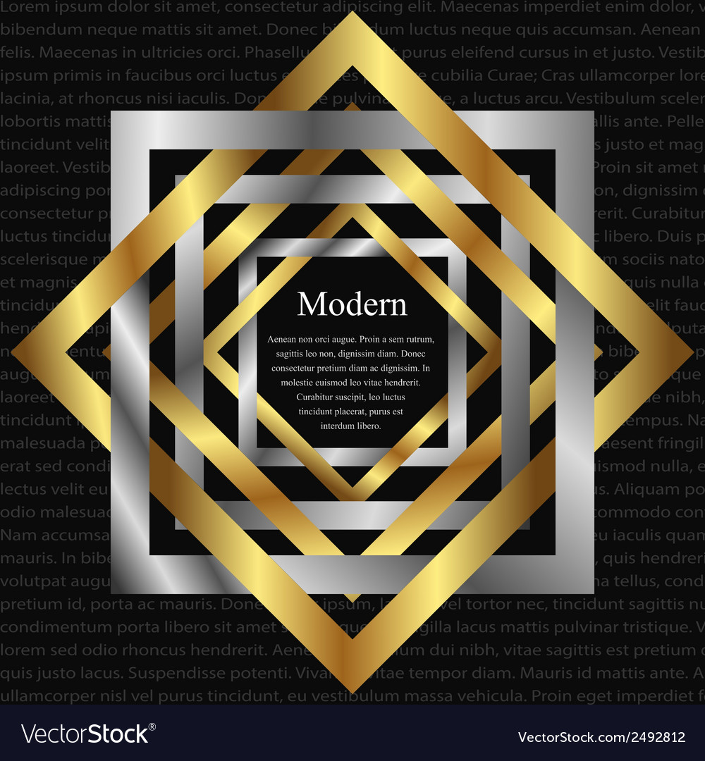 Modern background with interlacing vector | Price: 1 Credit (USD $1)