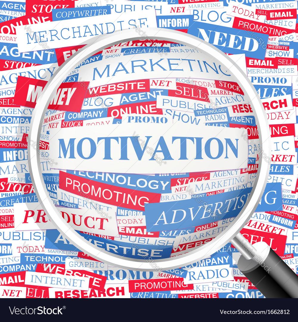 Motivation vector | Price: 1 Credit (USD $1)