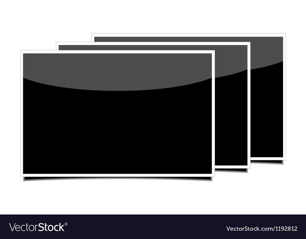 Photo on gray background eps10 vector   Price: 1 Credit (USD $1)