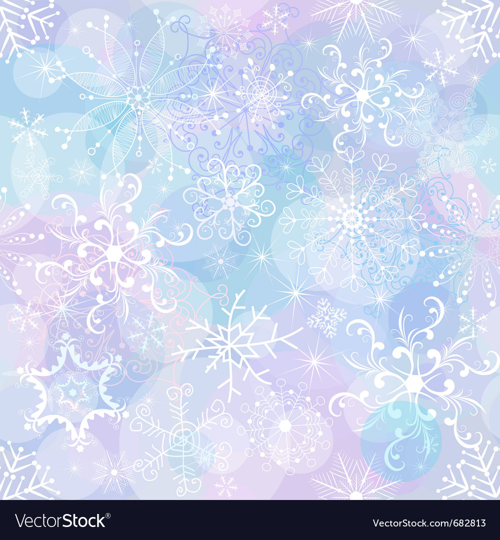 Gentle christmas pattern vector | Price: 1 Credit (USD $1)