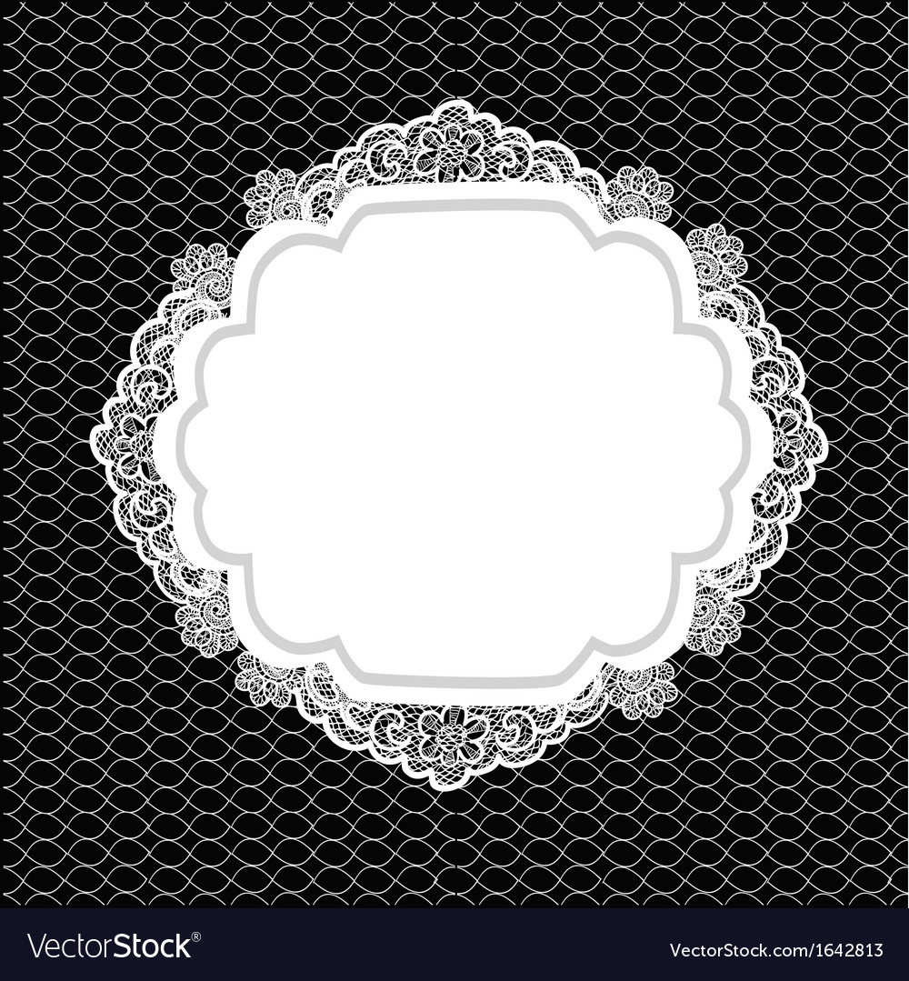Vintage lacy background vector | Price: 1 Credit (USD $1)