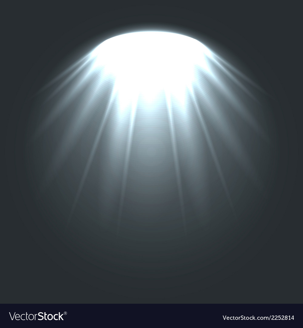 Stage ies lights with smoky effect background vector | Price: 1 Credit (USD $1)