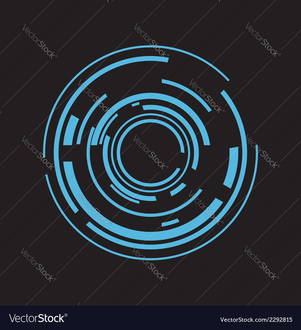 Abstract design element vector