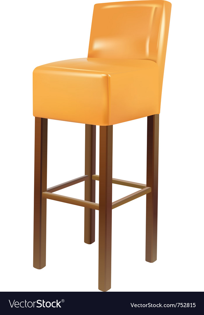 Bar chair vector | Price: 1 Credit (USD $1)