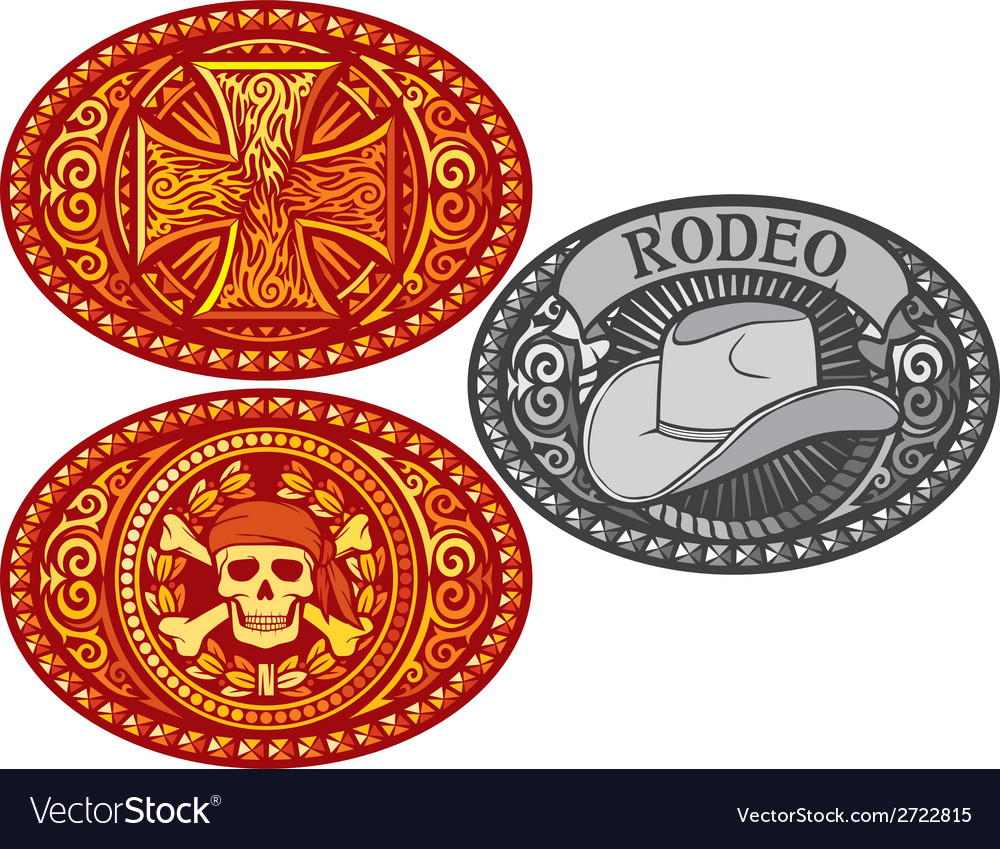 Belt buckle vector | Price: 1 Credit (USD $1)