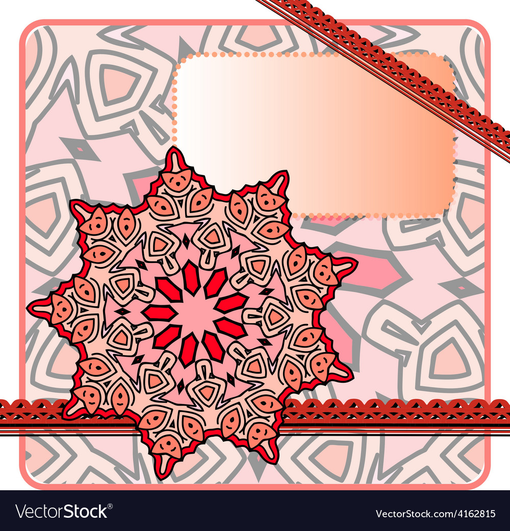 Red frame vector | Price: 1 Credit (USD $1)