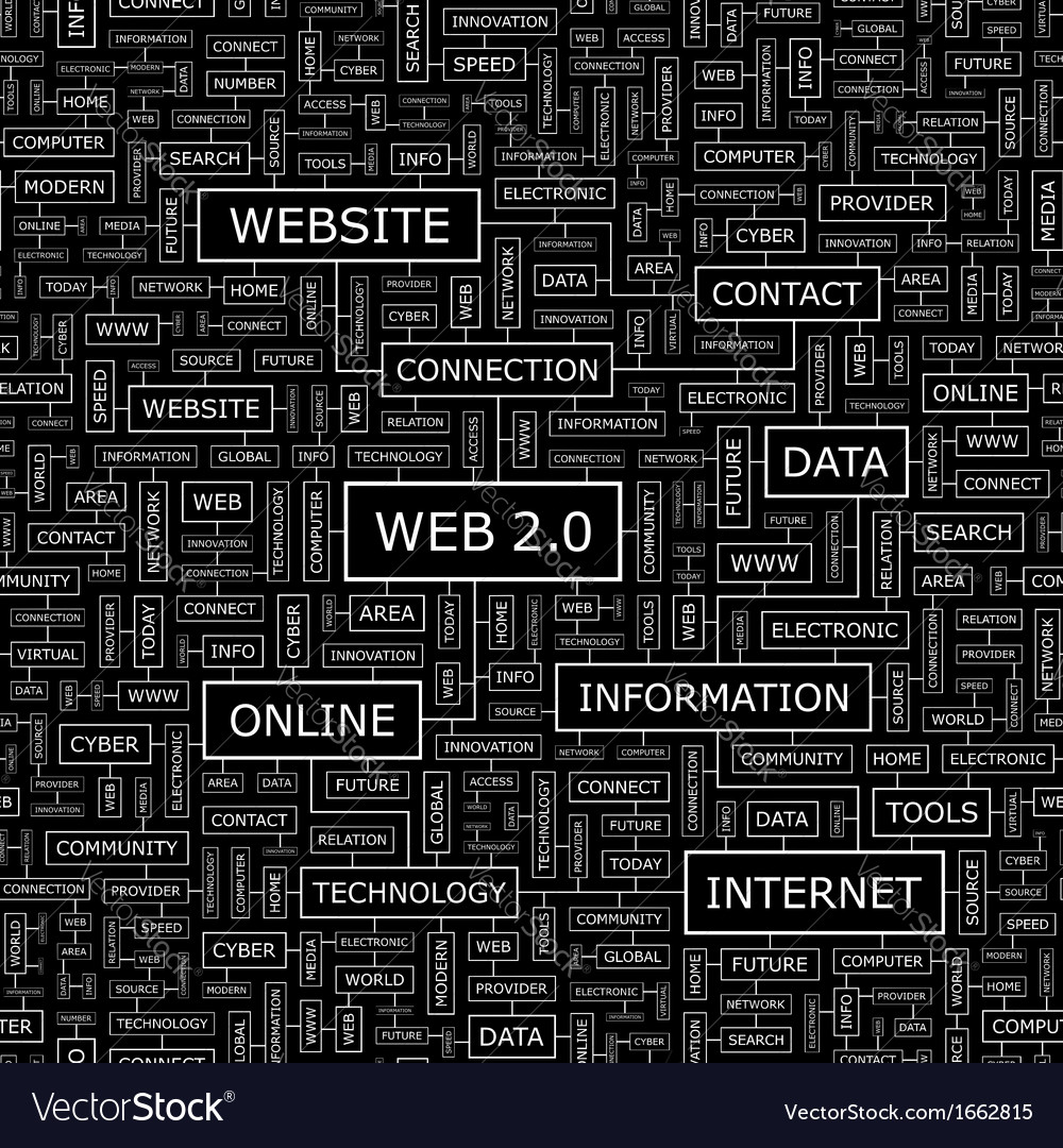 Web2 0 vector | Price: 1 Credit (USD $1)