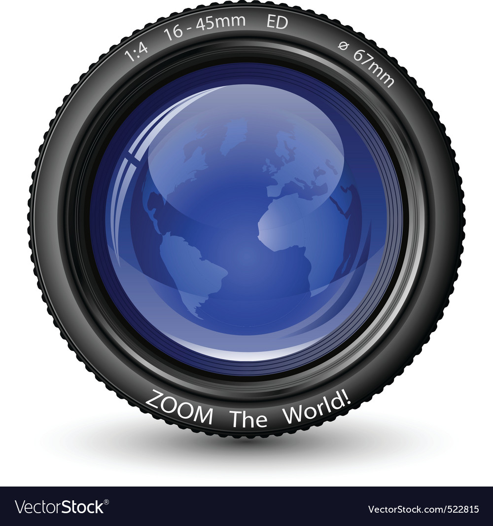 Zoom the world vector | Price: 1 Credit (USD $1)