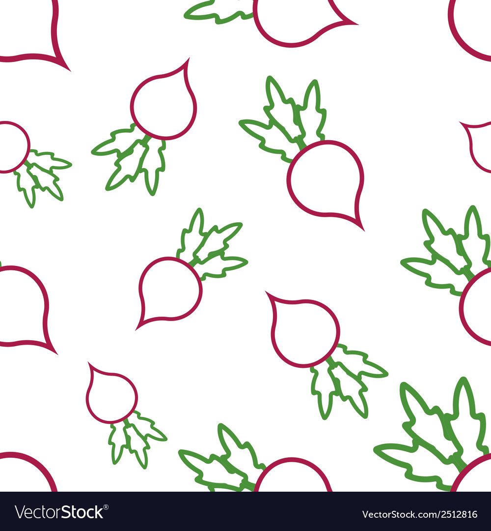 Pattern circuit radish vector | Price: 1 Credit (USD $1)