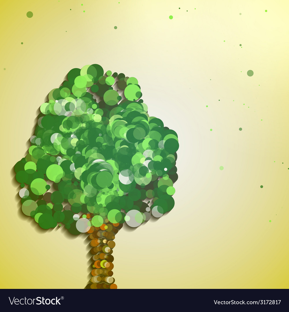 Abstract autumn tree vector   Price: 1 Credit (USD $1)