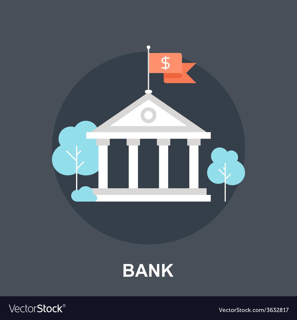 Bank concept vector | Price: 1 Credit (USD $1)