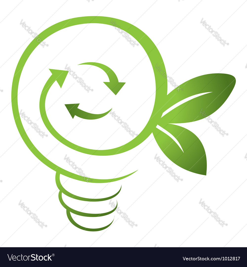 Green energy vector | Price: 1 Credit (USD $1)