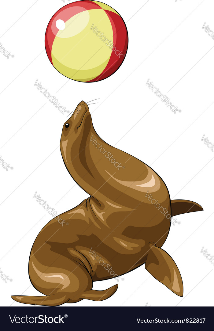 Seal vector | Price: 3 Credit (USD $3)