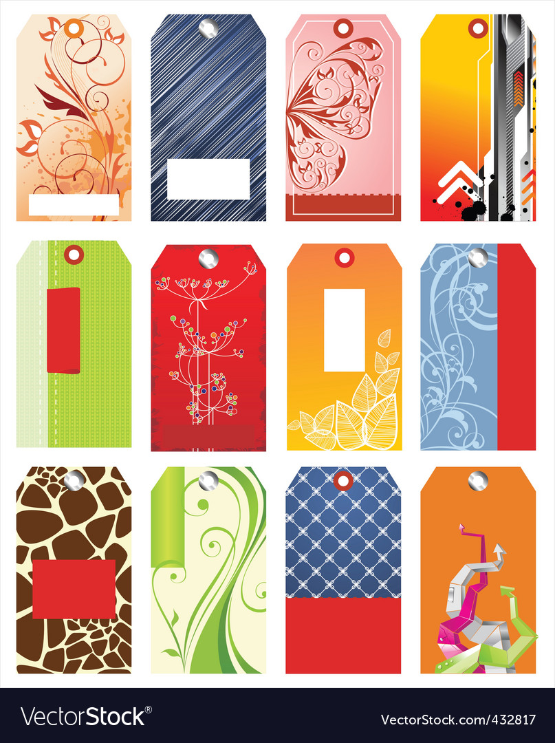 Set of sale tags vector | Price: 1 Credit (USD $1)