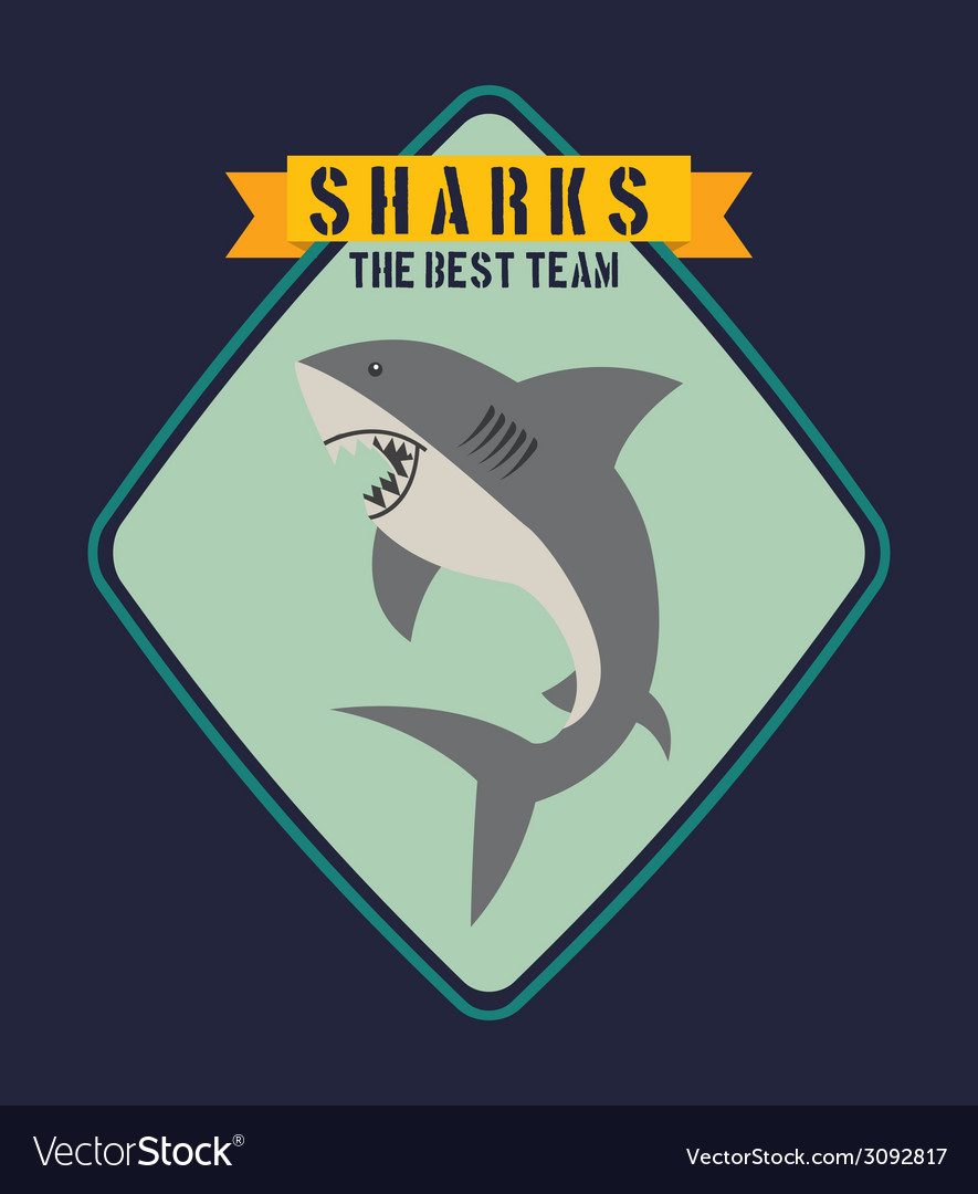Shark design vector | Price: 1 Credit (USD $1)
