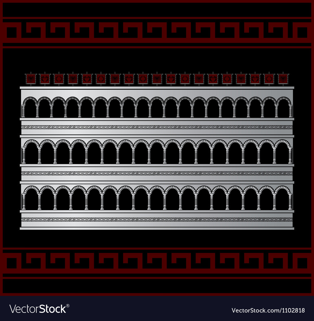 Fantasy colosseum vector | Price: 1 Credit (USD $1)
