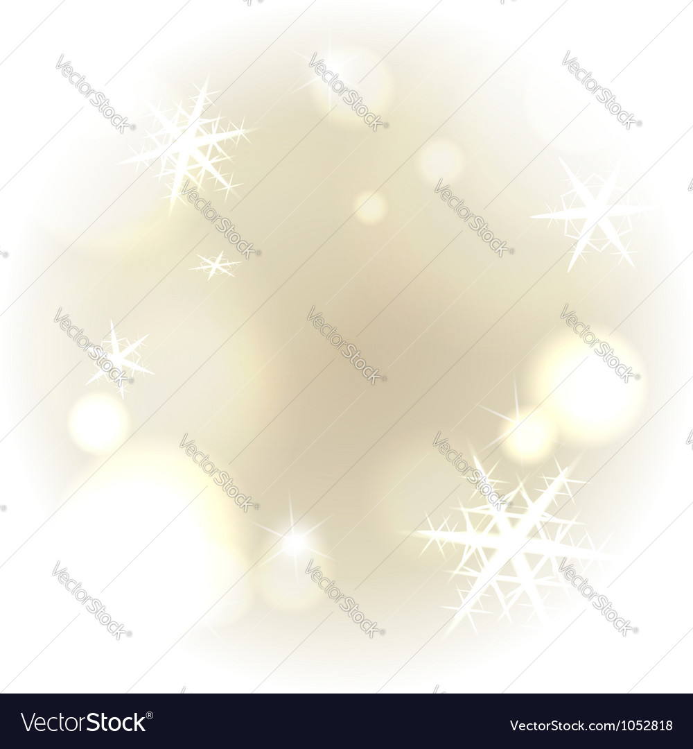 Light warm snowy background vector | Price:  Credit (USD $)