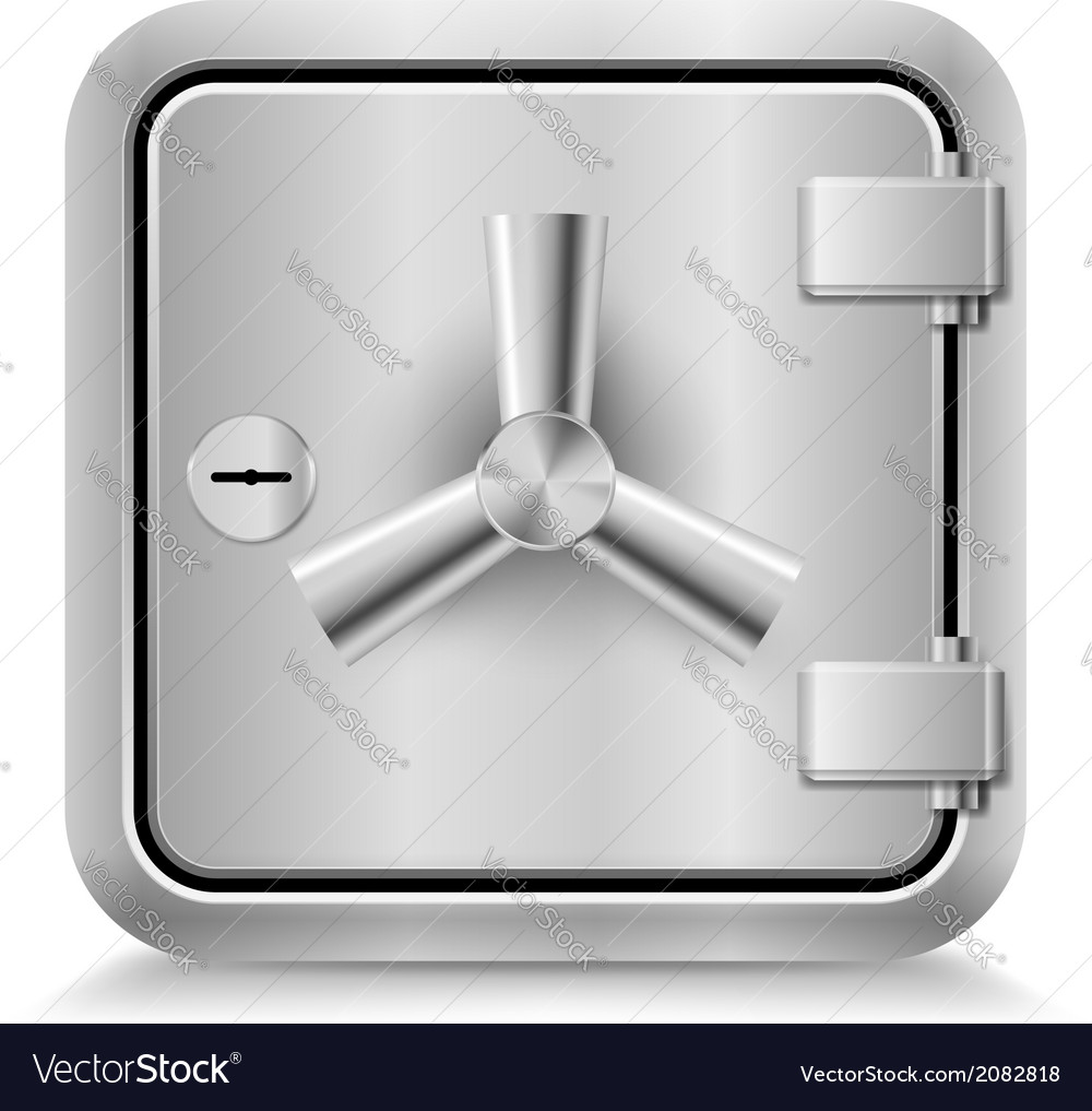 Safe icon vector | Price: 1 Credit (USD $1)