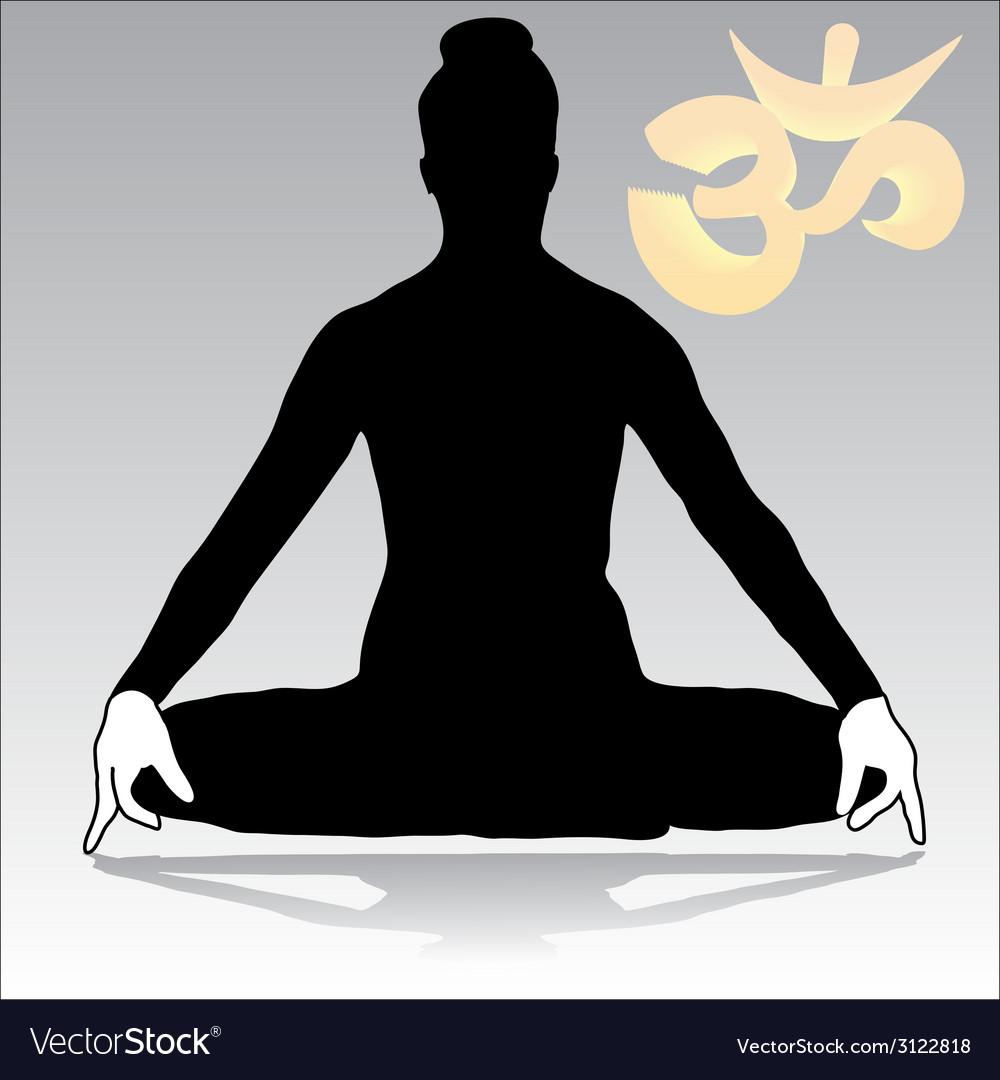 Yoga - jalandhara vector | Price: 1 Credit (USD $1)
