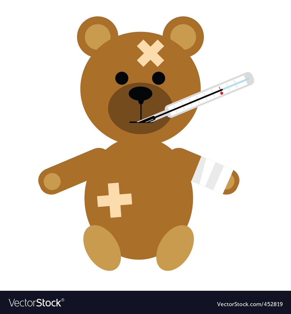 Bear cub vector | Price: 1 Credit (USD $1)