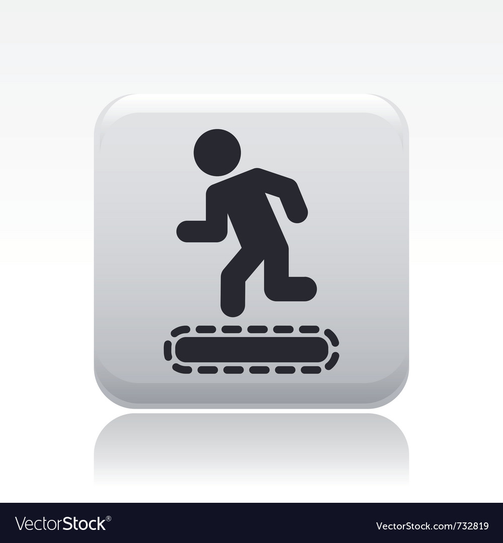 Exercise machine icon vector | Price: 1 Credit (USD $1)