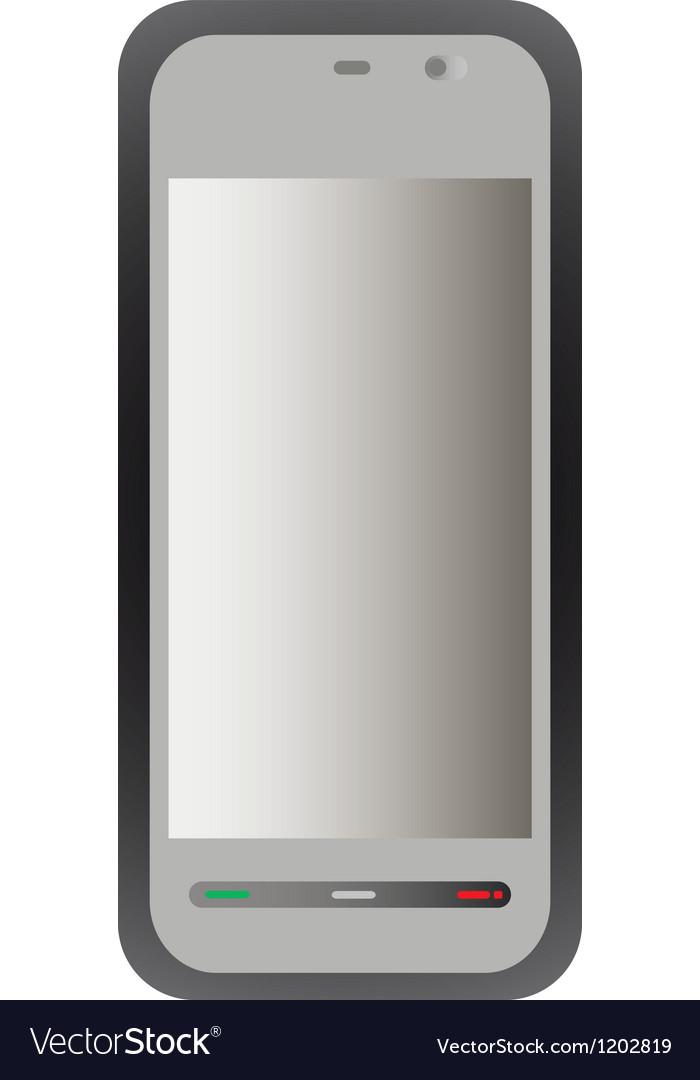 Smartphone vector | Price: 1 Credit (USD $1)